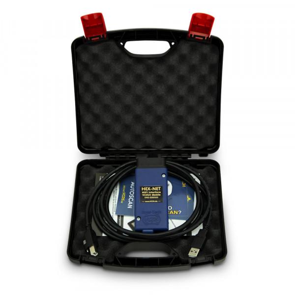HEX-NET WiFi Basiskoffer inkl. VCDS-Lizenz