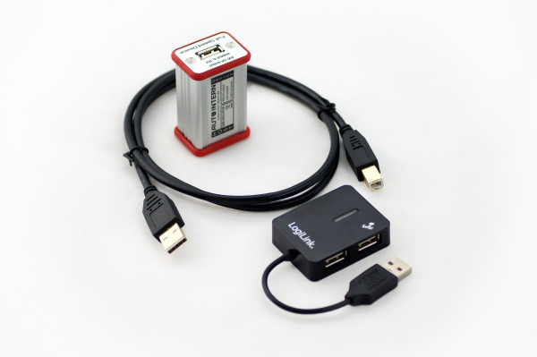 Auto-Intern USB-Isolator Lieferumfang