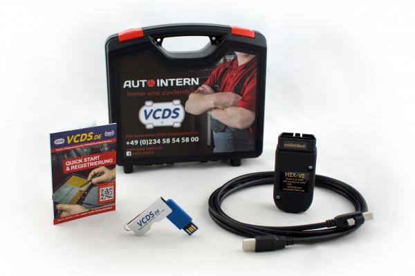 HEX-V2 Basiskoffer Lieferumfang